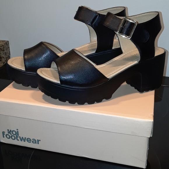 koi footware Shoes - Koi footwear chunky sandal